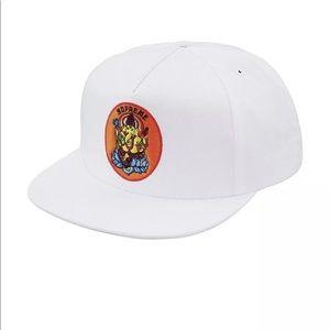 Ganish 5-Panel White Supreme Hat